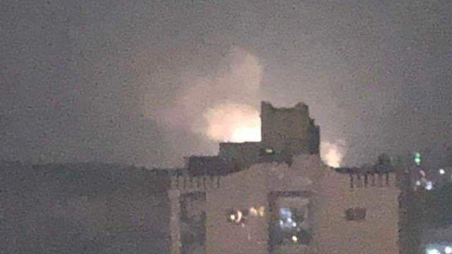Damascus: Israeli air/naval forces hit 10 Syrian, Iranian, Hizballah targets