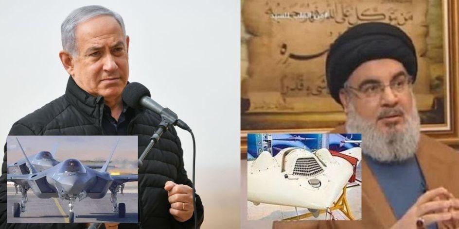 Netanyahu warns Iran & Syria; Nasrallah, Saudi Arabia. Iran redeploys big Saegheh-2 drones at T-4