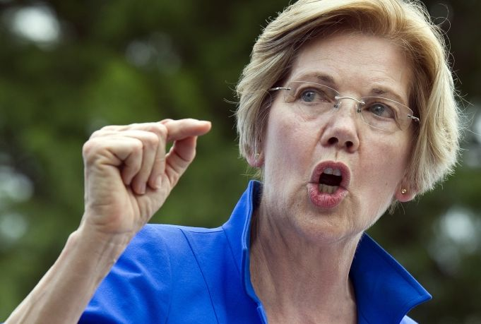 Warren pledges witch hunts against pro-Israel Trump supporters
