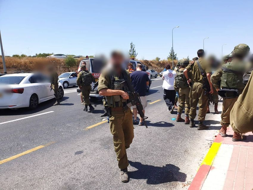 Two young Israelis injured in terrorist car-ramming at Gush Etzion