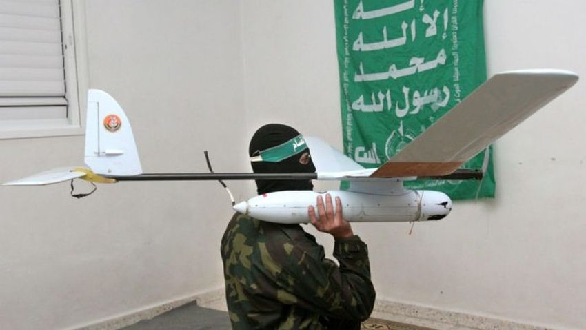 Palestinians launch their first explosive drone from Gaza. An IDF vehicle damaged. Two Israelis stabbed