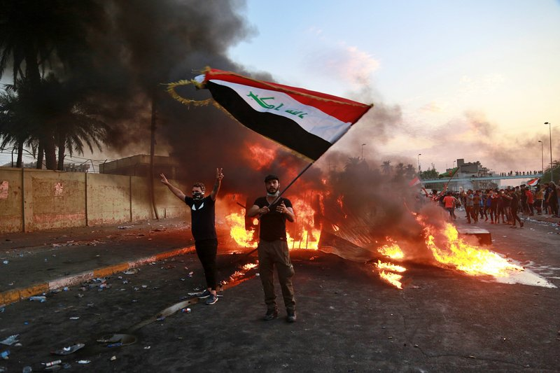 The hidden hand stirring up unrest in Iraq at cost of 100 lives, 4,000 injured:  Sadr at Tehran's behest