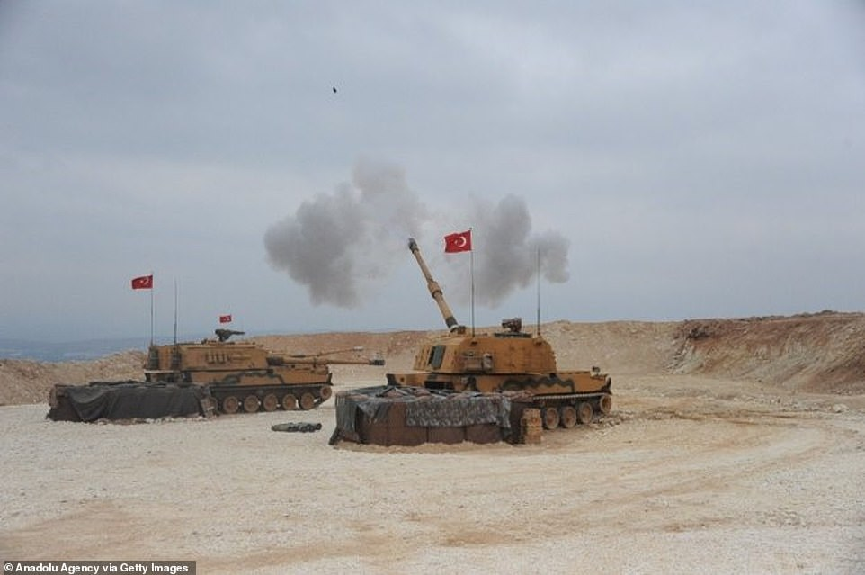 Turkey is short of military strength to achieve Erdogan's ambitious goals in Syria