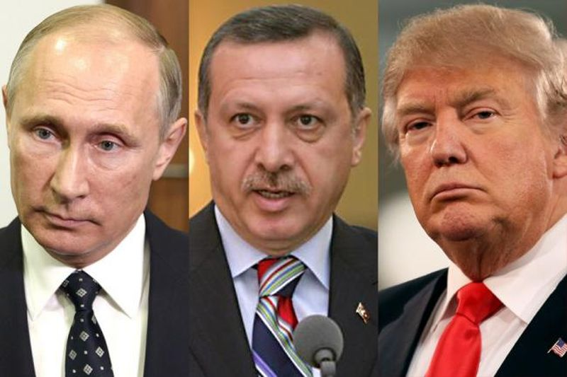 Despite Erdogan's bravado, his Syrian offensive is squeezed in a US-Russian hug