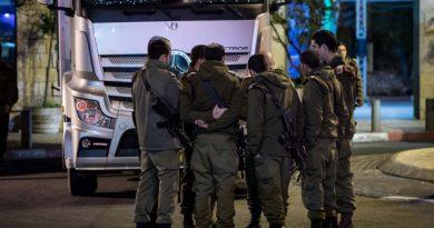 Back-to-back Palestinian terror in Jerusalem. Gunshots injure Israeli policeman after ramming attack injures 14 troops