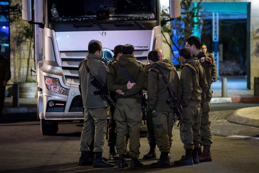 Hunt in Jerusalem, Bethlehem for Palestinian car-rammer who injured 14 soldiers - DEBKAfile