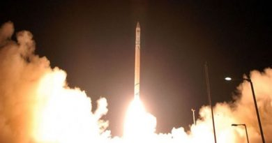Israel's Ofek-16 spy satellite successfully launched into space