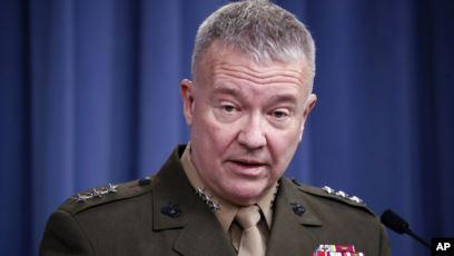 Le général américain Kenneth McKenziei