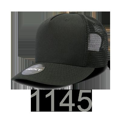 5a12a6f5f5ecc 1145 - 5 Panel Acrylic Trucker Cap