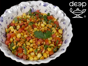 Sweet Corn - Dal Chaat