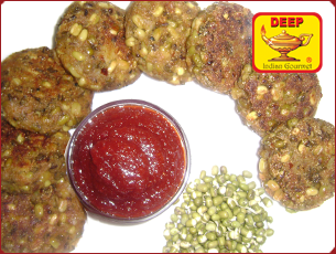 Sprouted Moong Kabab