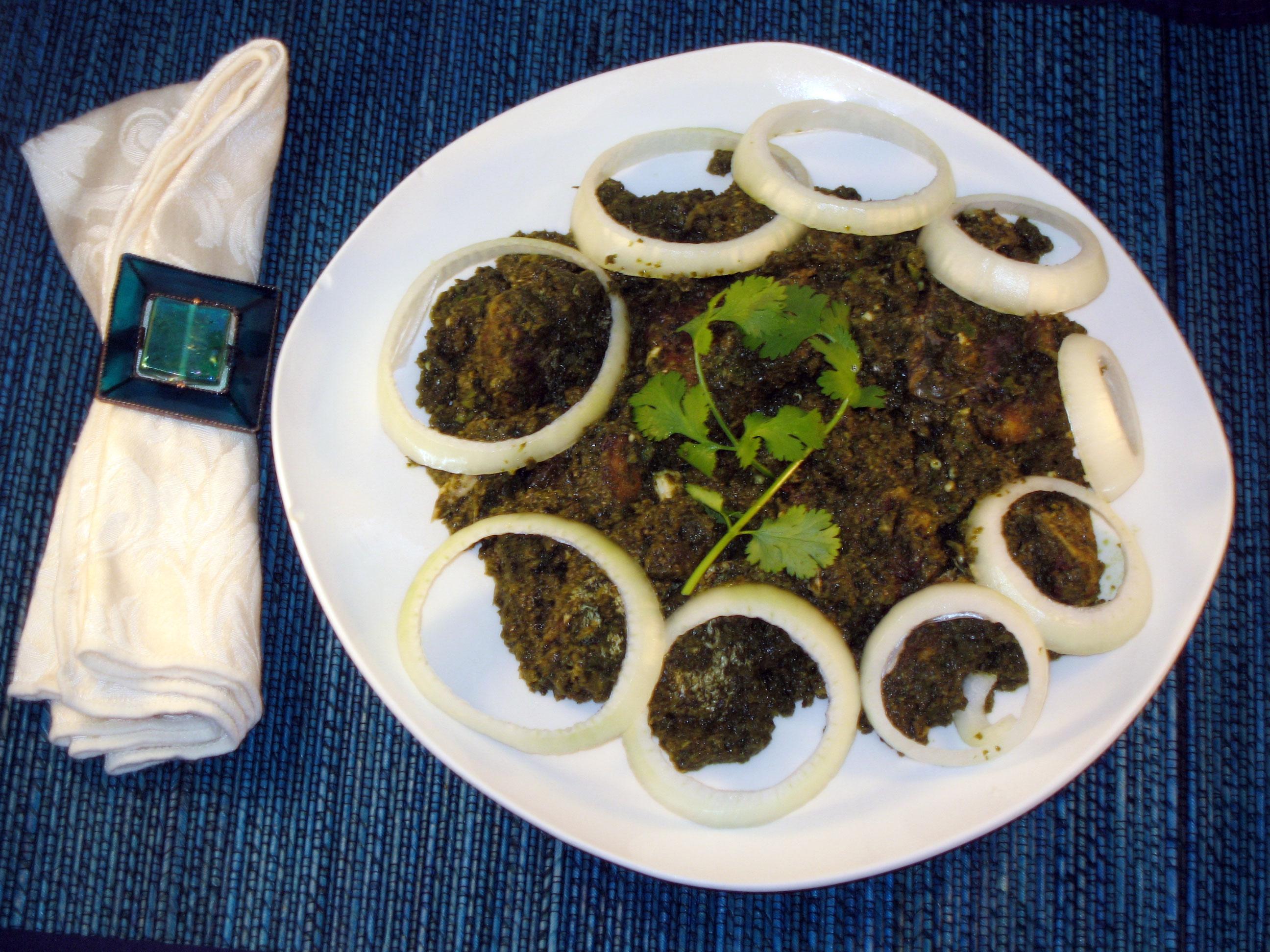 Fish Tikka Hariyali