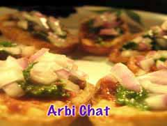 Arvi Chaat