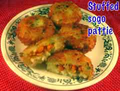 Stuffed Sogo Pattie