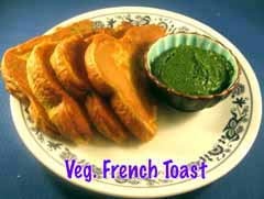 Vege French Toast