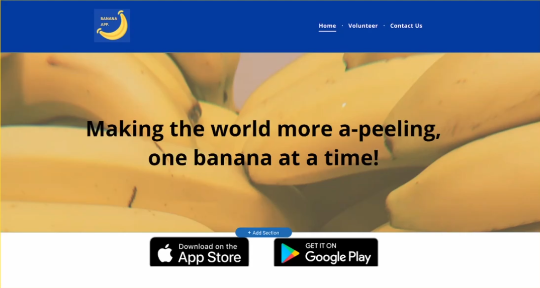 Banana App - Using Technology to Help Hunger Problems