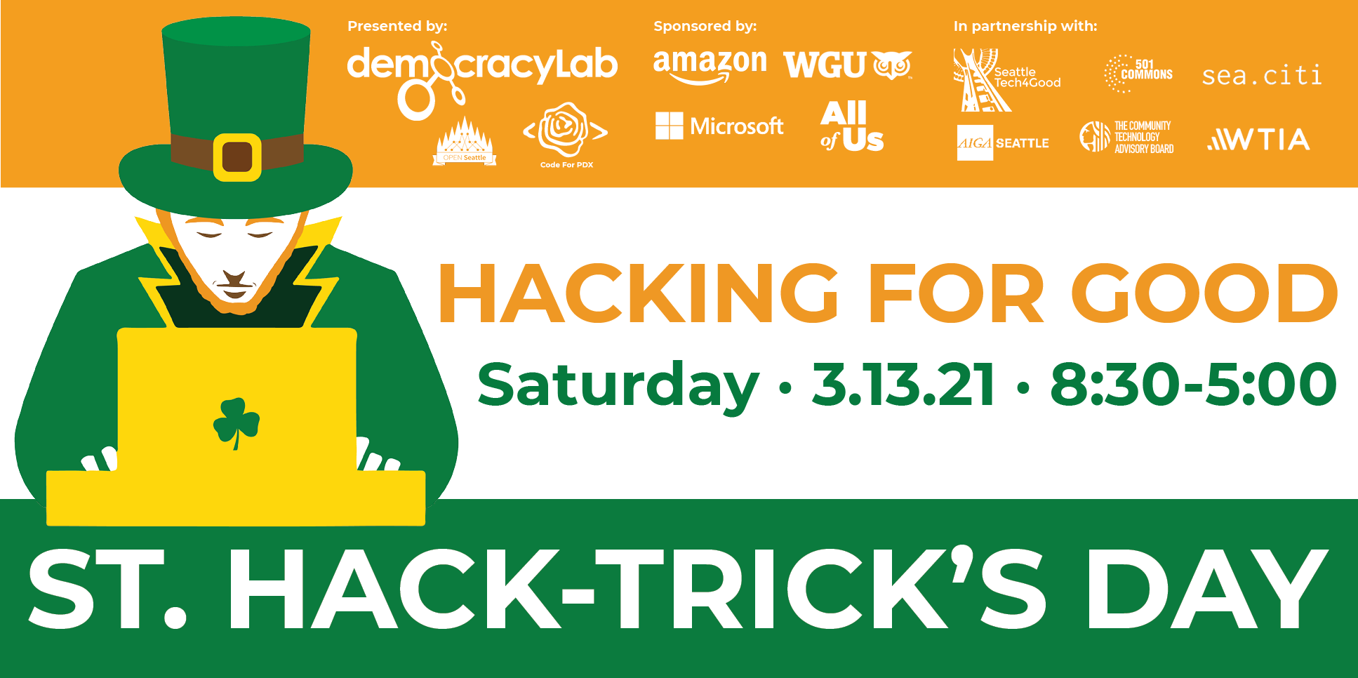 2nd Virtual St. Hack-trick's Day Accelerates Civic Innovation