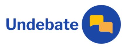 Undebates: Making Democracy More Accessible
