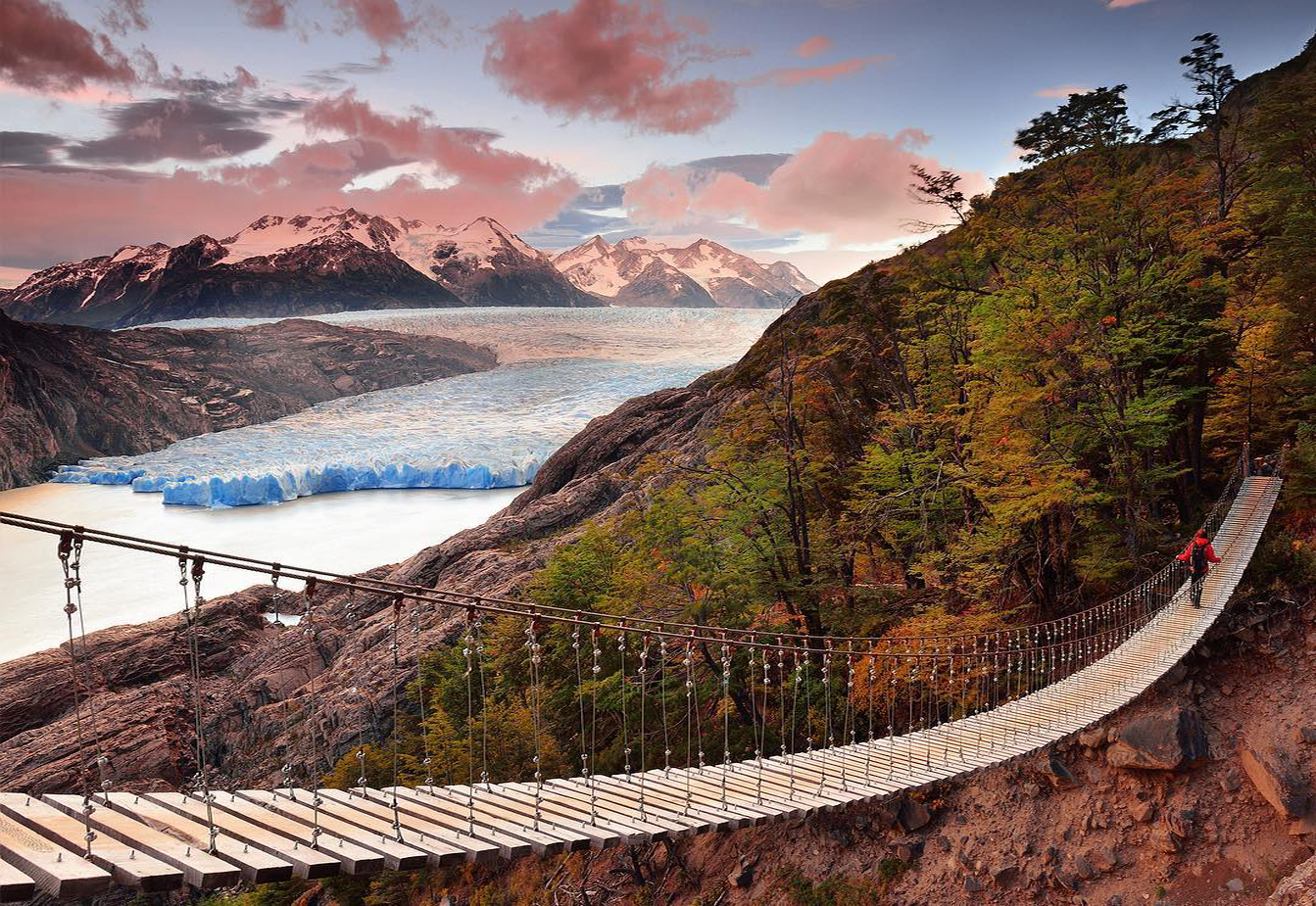 Paisaje de la patagonia