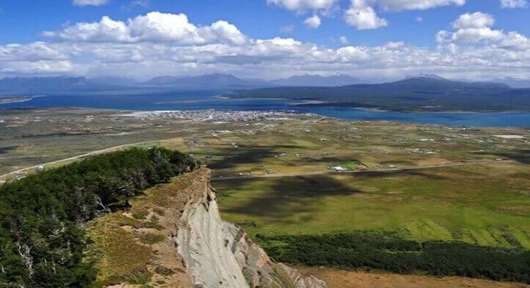 Paisaje desde el cerro dorotea hacia el resto de Torres del Paine