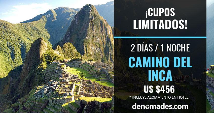 Banner Camino del Inca