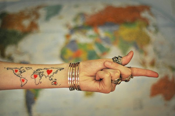 wrist-map-tattoo
