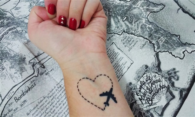 Tatuajes Perfectos Para Amantes De Los Viajes Blog Denomades Com