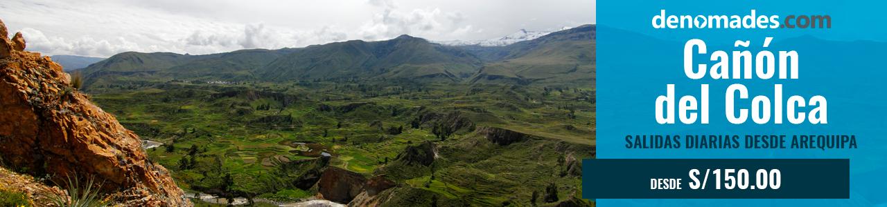Tour Cañón del Colca en Arequipa
