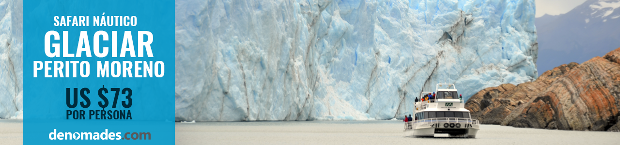 Safari Náutico Glaciar Perito Moreno