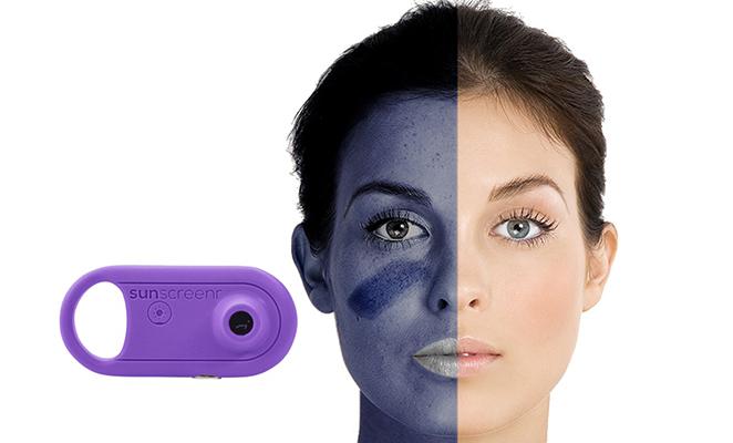 Sunscreenr: cámara ultravioleta para proteger la piel