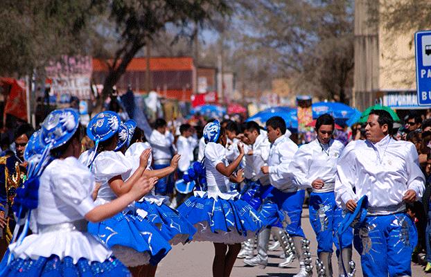 Bailarines Fiesta La Tirana