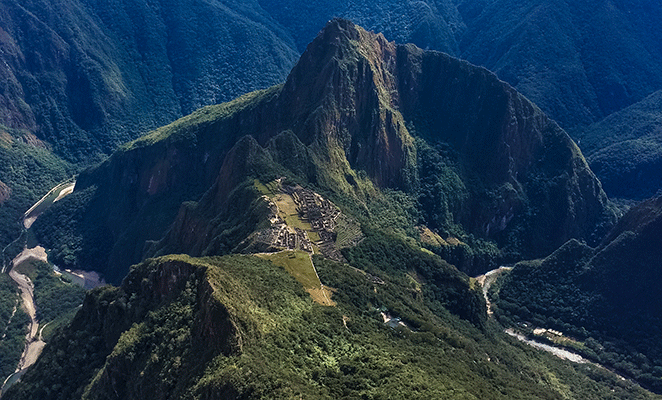 Flickr: Babak Fakhamzadek / Vista Montaña Machu Picchu