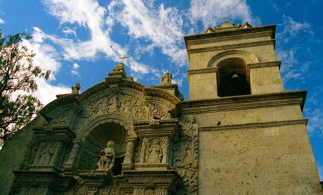 Iglesia de Yanahuara | Martín García