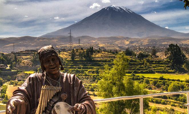 Vista del Volcán Misti | Víctor Bautista