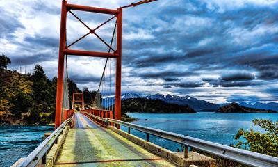 Flickr: Mariano Mantel/ Lago General Carrera, Puente Desagüe