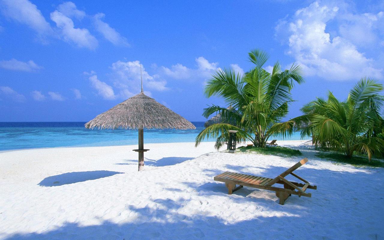 Playa paradisiaca en Peru