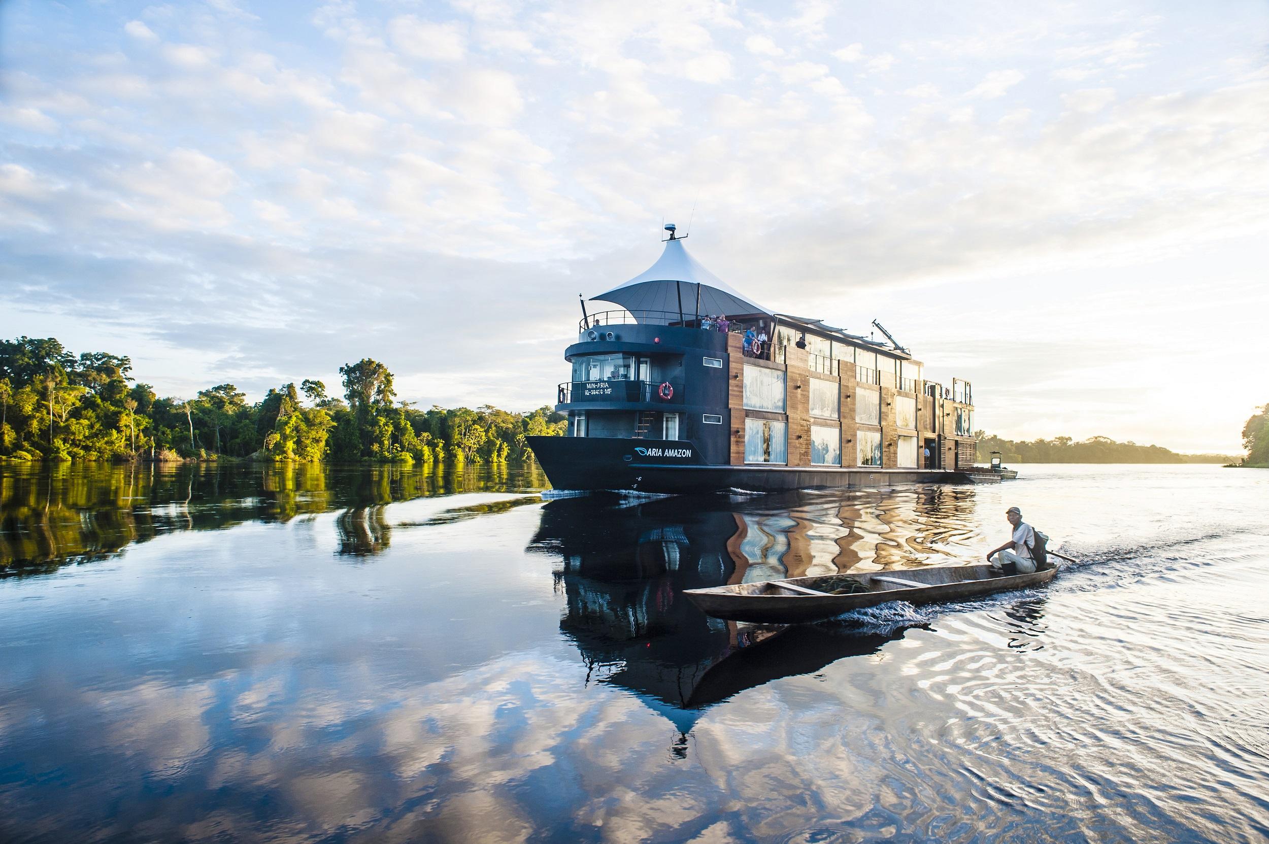 Hotel barco en el amazonas