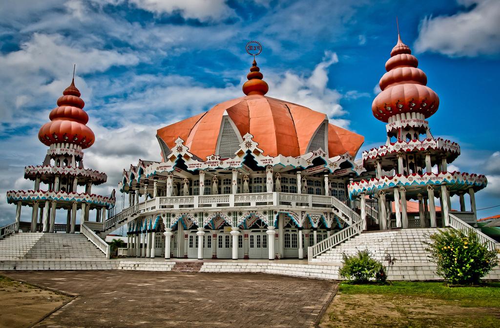 Templo hindu en sudamerica