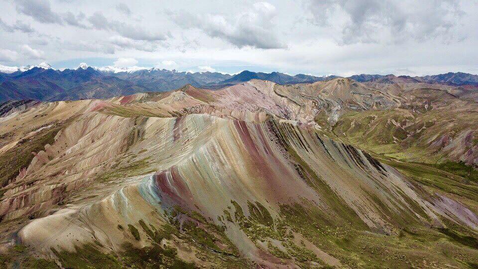 Cadena montañosa Palcoyo