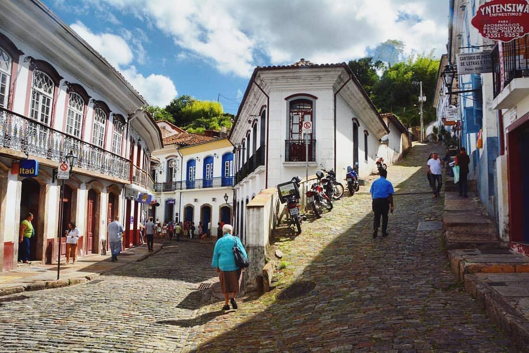 Ciudad colonial en Brasil