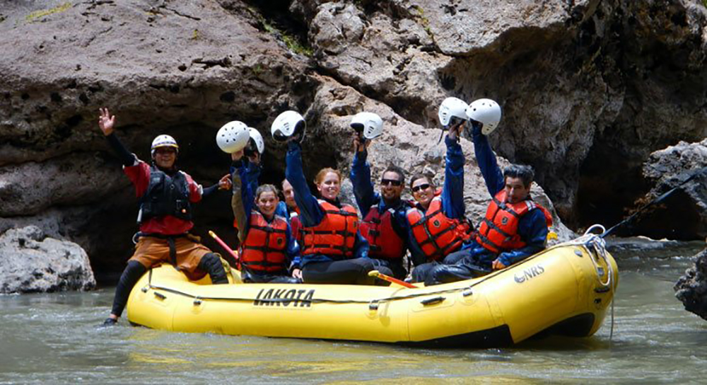 Inca Jungle rafting