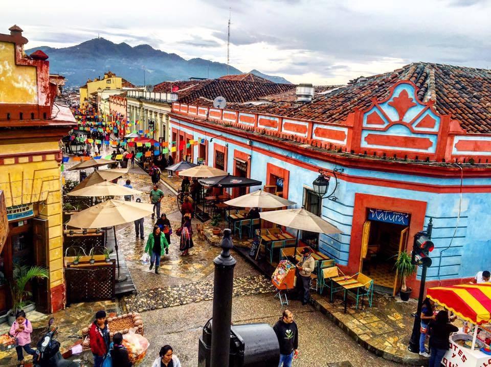 pueblo pintoresco en mexico
