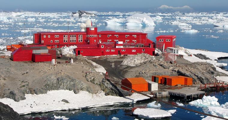Base militar chilena en la antartica