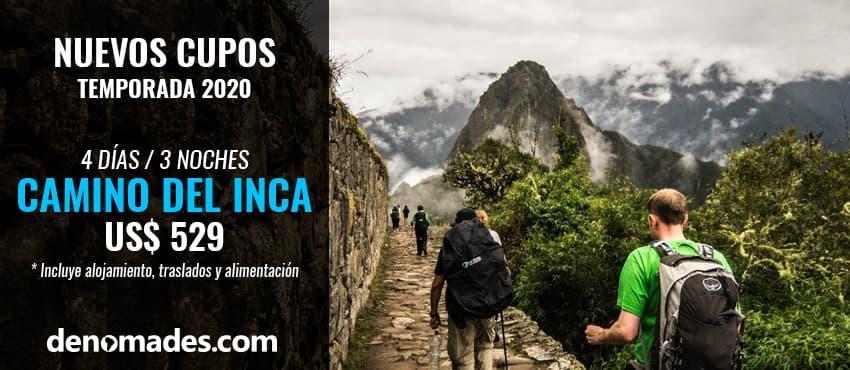 Camino del Inca Tradicional.