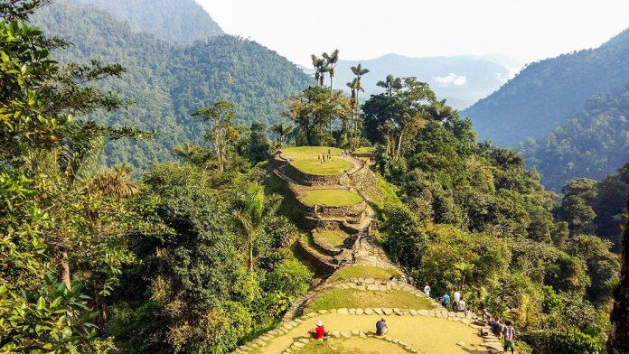 Ciudad perdida en medio de la selva de Colombia
