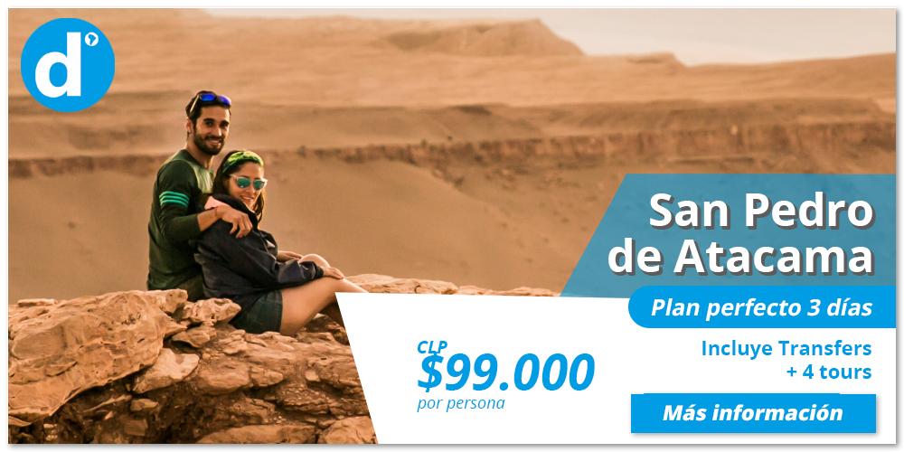 Reserva el plan perfecto de 3 días en San Pedro de Atacama.