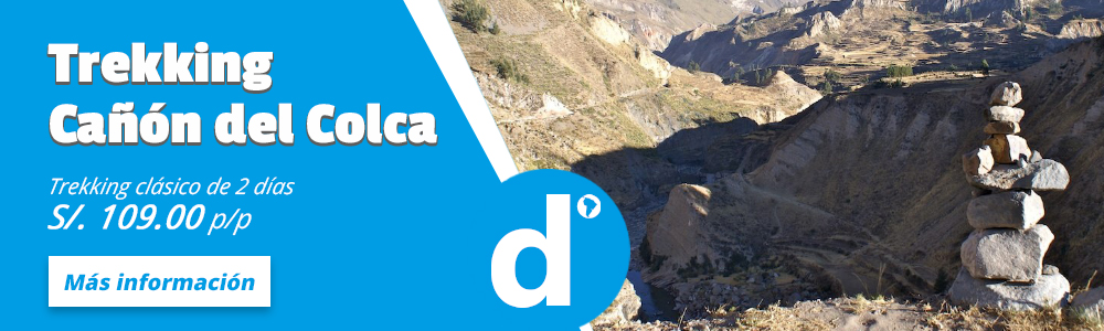 Trekking Cañon del Colca 2 dias.