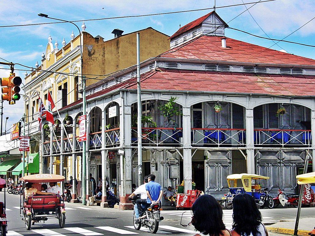 Movimiento en la ciudad de iquitos