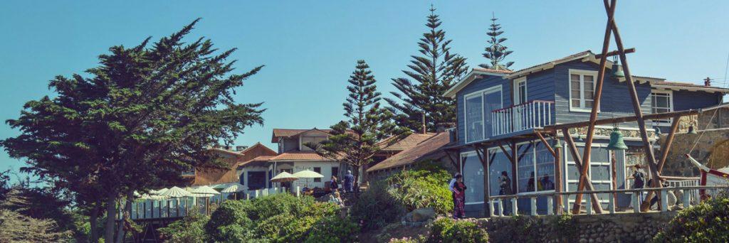 Casa frente a la playa de poeta pablo neruda