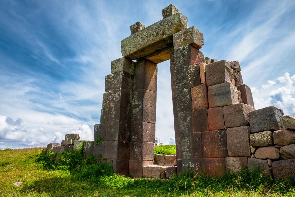 Puerta de entrada a complejo arqueológico vilcashuamán